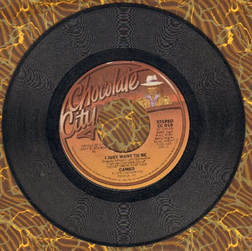 Cameo - I Just Want To Be/The Rock (with juke box label) - NM9/ - 45 rpm Records