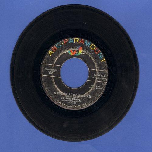 Campbell, Jo Ann - A Kookie Little Paradise/Bobby, Bobby, Bobby  - VG7/ - 45 rpm Records