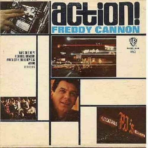 Cannon, Freddy - Action!: Hang On Sloopy, High Heel Sneakers, Papa's Got A Brand New Bag, Let Me Show You Where It's At, Beachwood City, It's Happening (Vinyl MONO LP record) - VG7/VG7 - LP Records