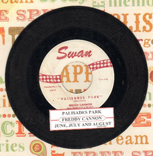 Cannon, Freddy - Palisades Park/June, July And August (with juke box label) - EX8/ - 45 rpm Records