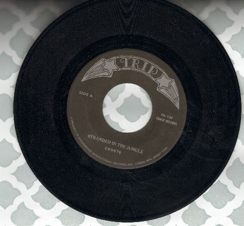 Cadets - Stranded In The Jungle/Clouds (by The Spacemen on flip-side) - NM9/ - 45 rpm Records