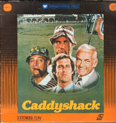 Caddyshack - Caddyshack - LASERDISC of the Comedy Cult Classic (This is a LASERDISC, not any other kind of media!) - NM9/EX8 - LaserDiscs