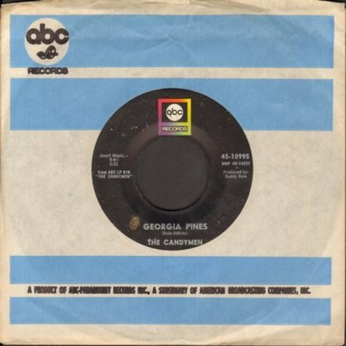 Candymen - Georgia Pines/Movies In My Mind (with ABC company sleeve) - EX8/ - 45 rpm Records