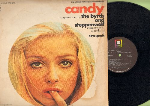 Candy - Candy - Original Motion Picture Soundtrack featuring songs by The Byrds, and Steppenwolf (Vinyl STEREO LP record) - NM9/VG6 - LP Records