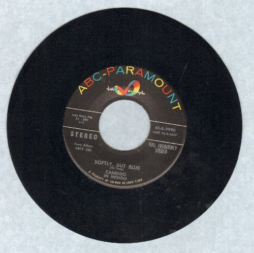 Candido In Indigo - Softly, But Blue/Blue Prelufe (RARE STEREO Pressing) - EX8/ - 45 rpm Records