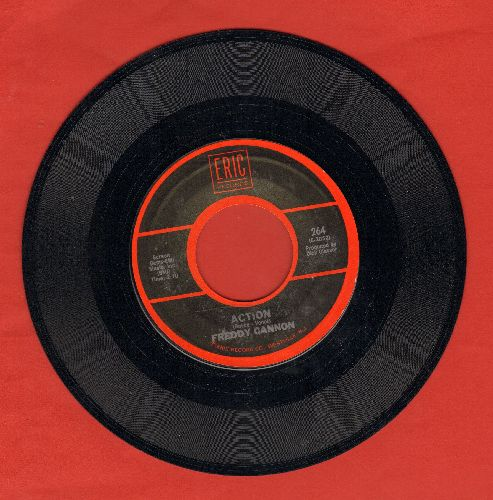 Cannon, Freddy - Action/Way Down Yonder In New Orleans (double-hit re-issue) - NM9/ - 45 rpm Records