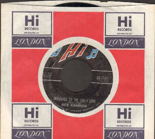 Cannon, Ace - Mocking Bird Rock/Dedicated To The One I Love (with company sleeve) - NM9/ - 45 rpm Records