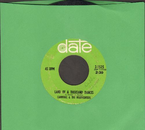 Cannibal & The Headhunters - Land Of 1000 Dances/Love Bird - VG7/ - 45 rpm Records