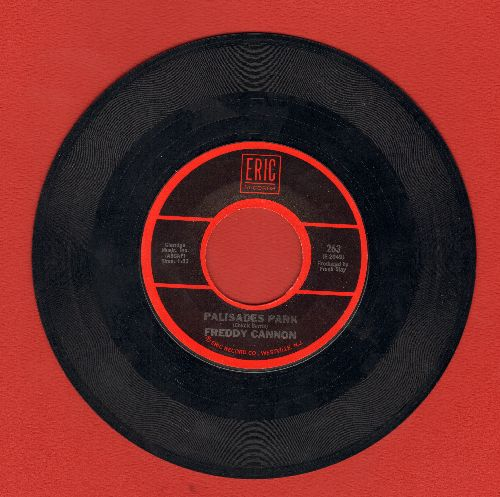 Cannon, Freddy - Palisades Park/Transistor Sister (double-hit re-issue) - EX8/ - 45 rpm Records