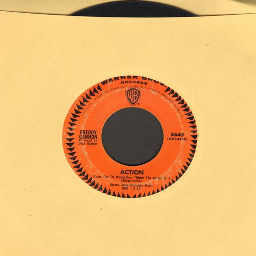 Cannon, Freddy - Action (Theme from TV Show -Where The Action Is-)/Beachwood City - VG7/ - 45 rpm Records