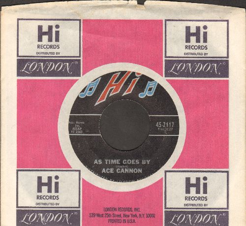 Cannon, Ace - As Time Goes By/Wonderland By Night (with Hi company sleeve) - NM9/ - 45 rpm Records