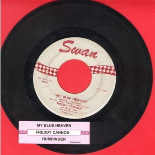 Cannon, Freddy - Humdinger/My Blue Heaven (with juke box label) - EX8/ - 45 rpm Records