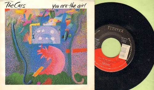 Cars - You Are The Girl/Ta Ta Wayo Wayo (with picture sleeve) - EX8/ - 45 rpm Records