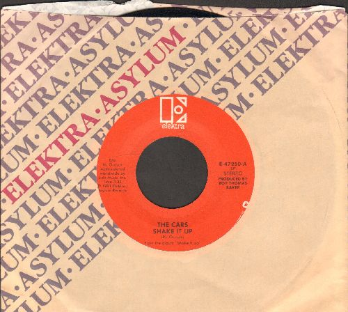 Cars - Shake It Up/Cruiser (with Elektra company sleeve) - EX8/ - 45 rpm Records