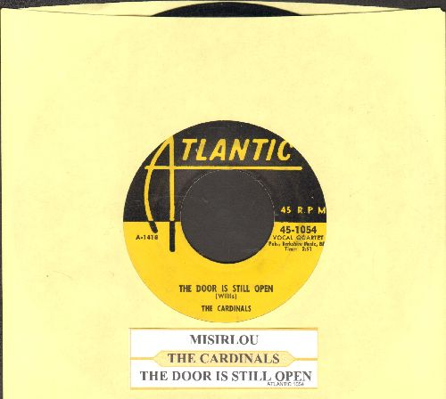 Cadinals - The Door Is Still Open/Misirlou (yellow label 1954 first pressing with juke box label) - VG7/ - 45 rpm Records