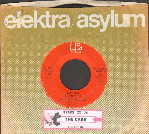 Cars - Shake It Up/Cruiser (with juke box label and company sleeve) - EX8/ - 45 rpm Records