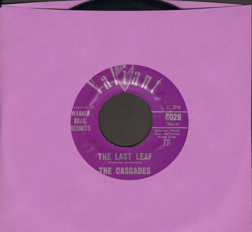 Cascades - The Last Leaf/Shy Girl  - VG7/ - 45 rpm Records