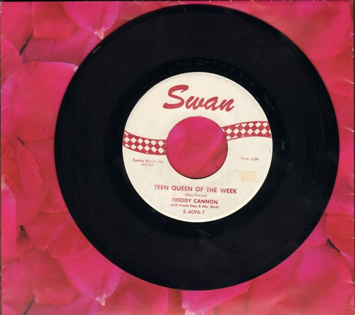 Cannon, Freddy - Teen Queen Of The Week/Wild Guy - EX8/ - 45 rpm Records