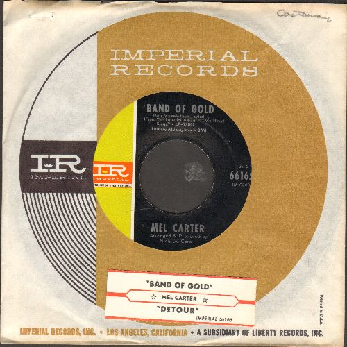 Carter, Mel - Band Of Gold/Detour (with Imperial company sleeve and juke box label) - NM9/ - 45 rpm Records