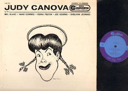 Canova, Judy - Judy Canova with Mel Blanc-Hans Conried-Verna Felton-Joe Kearns-Sheldon Leonard: Meet The Folks, Two Gun Judy Saloon, Ma And Pa, Two Gun Judy, More Ma And Pa (Vinyl LP Record) - NM9/EX8 - LP Records