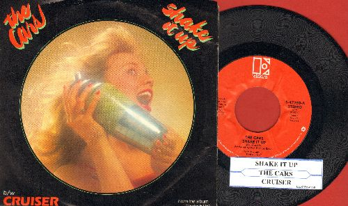Cars - Shake It Up/Cruiser (with picture sleeve) - NM9/EX8 - 45 rpm Records