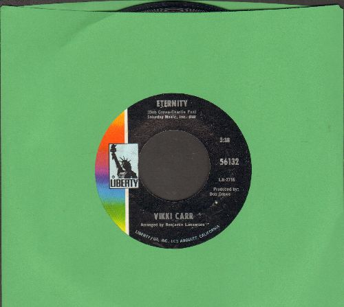 Carr, Vikki - Eternity/I Will Wait For Love - EX8/ - 45 rpm Records