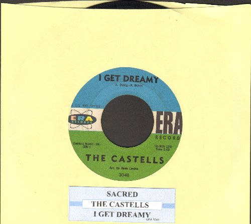 Castells - Sacred/I Get Dreamy (with juke box label) (wol) - VG7/ - 45 rpm Records