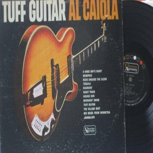 Caiola, Al - Tuff Guitar: A Hard Day's Night, Tequila, Hound Dog, Jambalaya, Rock Around The Clock, Memphis (vinyl MONO LP record) - EX8/VG7 - LP Records