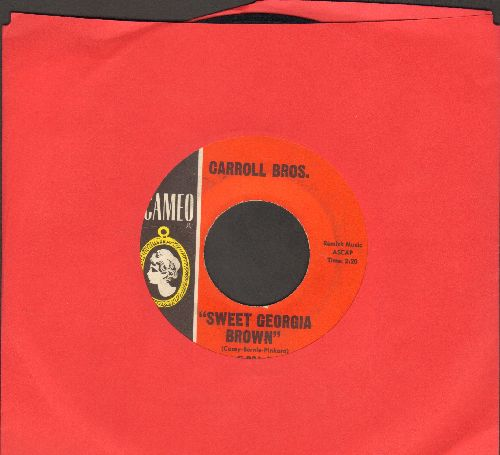 Carroll Brothers - Sweet Georgia Brown (Harlem Globetrotters Theme)/Boot It - EX8/ - 45 rpm Records