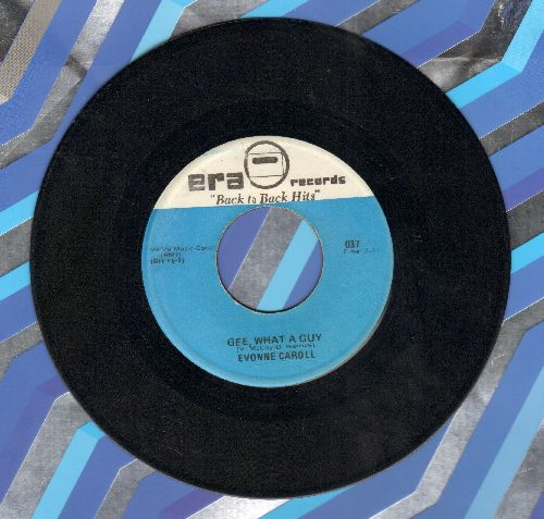 Caroll, Yvonne - Gee What A Guy/Rockin' Robin (by Bobby Day on flip-side) - EX8/ - 45 rpm Records
