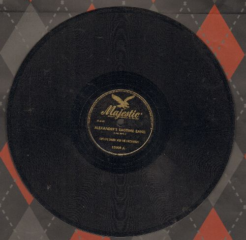 Captain Stubby & The Buccaneers - Alexander's Ragtime Band/Piccolo Pete (10 inch 78 rpm record) - EX8/ - 78 rpm