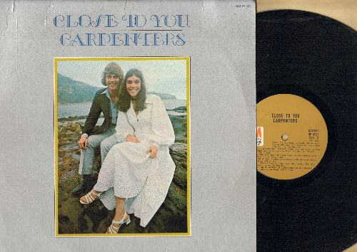 Carpenters - Close To You: We've Only Just Begun, Help!, Baby It's You, I'll Never Fall In Love Again (Vinyl STEREO LP record) - NM9/EX8 - LP Records