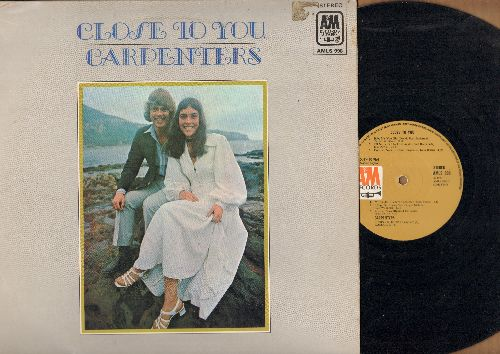 Carpenters - Close To You: We've Only Just Begun, Help!, Baby It's You, I'll Never Fall In Love Again (Vinyl STEREO LP record, Canadian pressing) - NM9/EX8 - LP Records