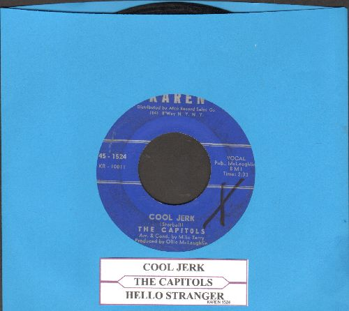 Capitols - Cool Jerk/Hello Stranger (with juke box label)(minor wol) - EX8/ - 45 rpm Records
