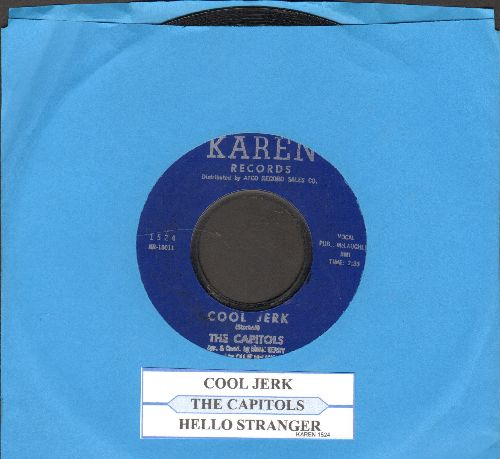 Capitols - Cool Jerk/Hello Stranger (early pressing with juke box label) - EX8/ - 45 rpm Records