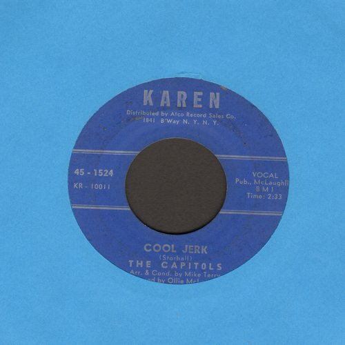 Capitols - Cool Jerk/Hello Stranger  - VG6/ - 45 rpm Records