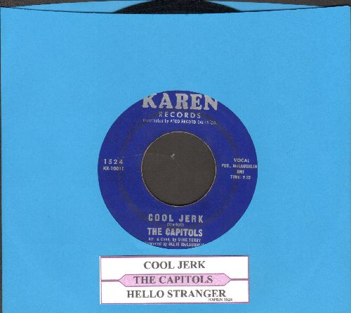 Capitols - Cool Jerk/Hello Stranger (with juke box label) (sol) - EX8/ - 45 rpm Records