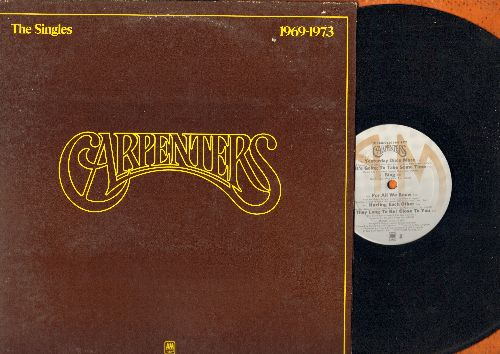 Carpenters - The Singles 1969-1973: We've Only Just Begun, Top Of The World, Ticket To Ride, Close To You, Sing, Rainy Days And Mondays (Vinyl STEREO LP record, gate-fold cover) - NM9/EX8 - LP Records