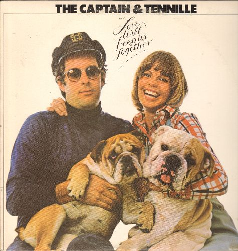 Captain & Tennille - Love Will Keep Us Together: Disney Girls, I Write The Songs, God Only Knows, Cuddle Up (vinyl STEREO LP record) - NM9/EX8 - LP Records
