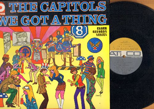Capitols - We Got A Thing: Knock On Wood, Hold On I'm Comin', Wild Thing, It's Googaloo Time, I Feel Alright (Vinyl MONO LP record) - NM9/NM9 - LP Records