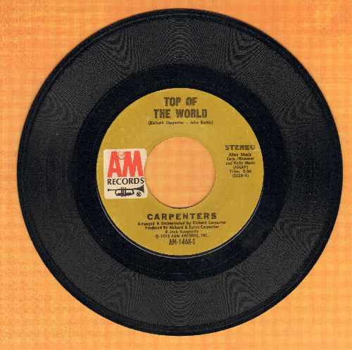 Carpenters - Top Of The World/Heather  - EX8/ - 45 rpm Records