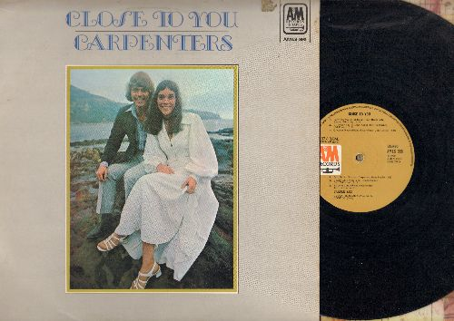 Carpenters - Close To You: We've Only Just Begun, Help!, Baby It's You, I'll Never Fall In Love Again (Vinyl STEREO LP record, Canadian Pressing) - EX8/VG7 - LP Records