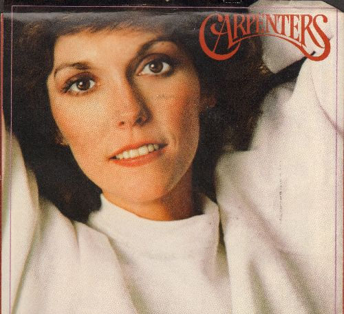 Carpenters - Make Believe It's Your First Time (double-A-sided DJ advance pressing with picture sleeve) - NM9/EX8 - 45 rpm Records
