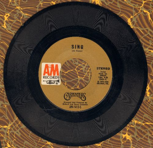 Carpenters - Sing/Drucilla Penny  - EX8/ - 45 rpm Records