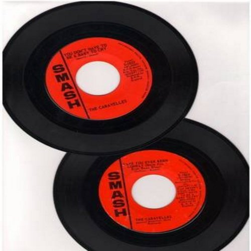 Caravelles - 2 for 1 Special: You Don't Have To Be A Baby To Cry/Have You Ever Been Lonely (2 vintage first issue 45rpm records for the price of 1!) - EX8/ - 45 rpm Records