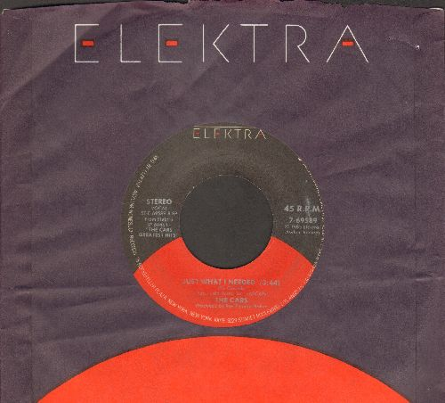Cars - Just What I Needed/Tonight She Comes (with Elektra company sleeve (wos) - VG7/ - 45 rpm Records