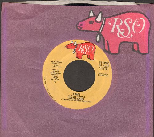 Cara, Irene - Fame/Never Alone (MINT condition with Original RSO company sleeve) - M10/ - 45 rpm Records