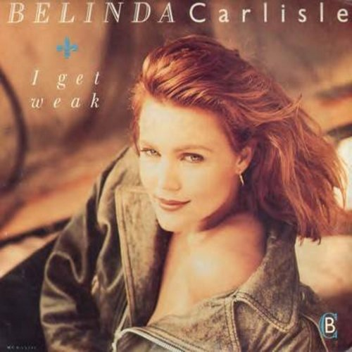 Carlisle, Belinda - I Get Weak/Should I Let You In? (with picture sleeve) - EX8/VG7 - 45 rpm Records