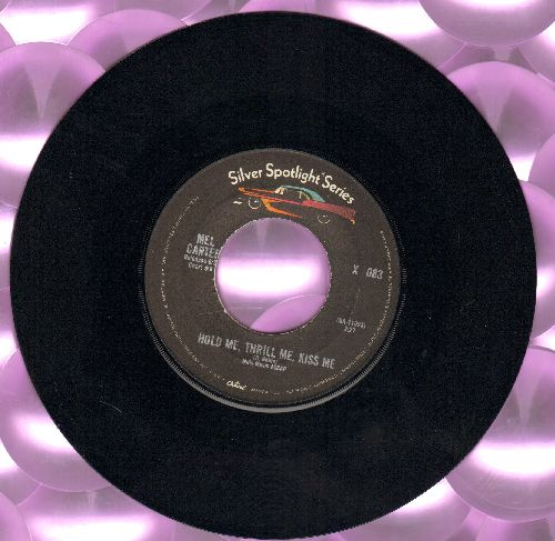 Carter, Mel - Hold Me, Thrill Me, Kiss Me/(All Of A Sudden) My Heart Sings (double-hit re-issue) - VG7/ - 45 rpm Records