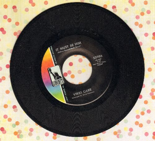 Carr, Vikki - It Must Be Him/That's All  - EX8/ - 45 rpm Records